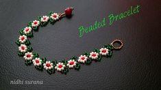 ⚜️Daisies in a Garden, Seed Bead Bracelet Seed Bead Bracelets, Seed Beads, Friendship Bracelets, Crochet Rope, Bead Crochet, Beading Tutorials, Beading Patterns, Loom Patterns, Bead Jewelry