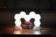 Dodecado: Sculptable LED Lighting. Lighting We Love at Design Connection, Inc. | Kansas City Interior Design http://designconnectioninc.com/blog/ #TableLamp #Interior Design