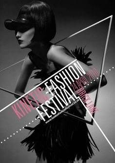Kentic Fashion brochure by Lewis Mclean, via Behance