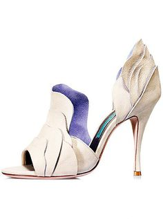 A very unique heel. GAETANO PERRONE SPRING SUMMER 2012 SHOE COLLECTION