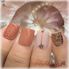 Fall Acrylic Nails, Acrylic Nail Designs, Glow Nails, Fun Nails, Overlay Nails, Semi Permanente, Dipped Nails, Square Nails, Perfect Nails