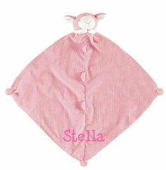 Sweet and charming, machine-washable and cashmere-soft. A Little Bit Of This Cashmere Soft Pink Lamb Blankie. Click the image to get more information about the product, including personalization options, at our online store!