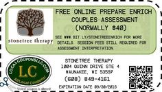 Coupon in Waunakee WI for Stonetree Therapy from Local Coupons LLC.