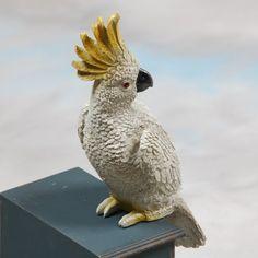 Decorative Perching Cockatoo
