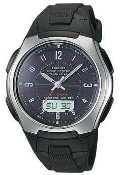 Casio Men's Solar Atomic Watch WVA430J-1A