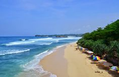 16 most beautiful beaches in Jogjakarta - Indrayanti Beach