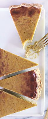 Vegan Divas Pumpkin Pie Recipe by Fernanda Capobianco, The Vegan Divas Cookbook