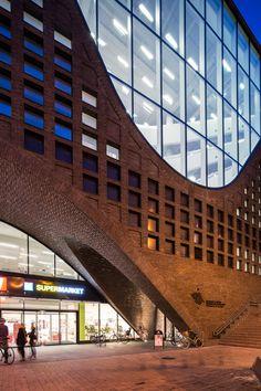 Helsinki University Library by Anttinen Oiva Architects