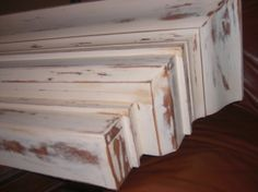 One+Of+A+Kind+Distressed+Mantel+Shelf+by+woodzie+on+Etsy,+$160.00