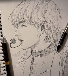 {Taehyung🙈} 2 day sketch.
