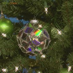 Day 4: CD Disco Ball #Ornament! #Christmas #TheChew #Craft #DIY
