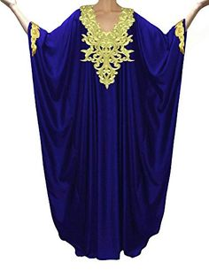 Kaftan Maxi Dress Evening Gowns Evening Dresses Wedding Dress Cocktail Dress Blue >>> Read more reviews of the product by visiting the link on the image.