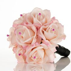 "Soft Pink Rose Bridal Bouquet | ""Sweetheart"" 