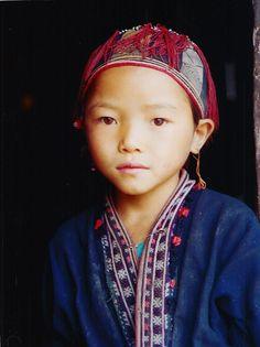 Dzao girl, Vietnam
