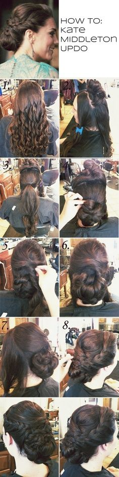 HOW TO: Kate Middleton UpDo
