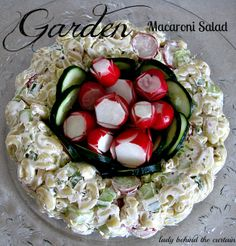 Lady Behind The Curtain - Garden Macaroni Salad