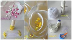Stamens for flowers Flower Stamen, Flower Making, Stems, Quilling, Paper Crafts, 3d, How To Make, Flower, Bouquets