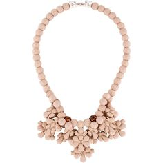 Pre-owned EK Thongprasert Strawberries and Cream Necklace ($125) ❤ liked on Polyvore featuring jewelry, necklaces, beading jewelry, cream jewelry, ek thongprasert jewelry, preowned jewelry and beaded jewelry