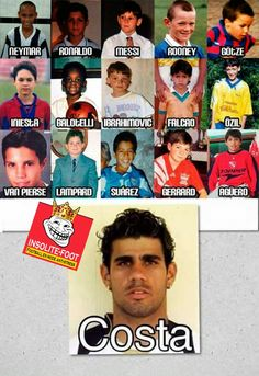 Les footballeurs quand ils étaient des enfants !!! - Insolite-Foot