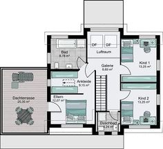grundriss erdgeschoss huf haus modum 8 10 fachwerk von huf haus pinterest haus. Black Bedroom Furniture Sets. Home Design Ideas