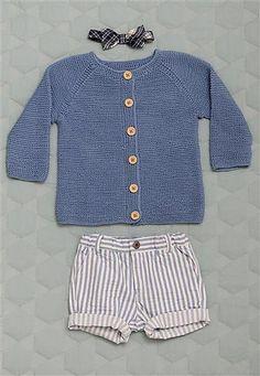 Ravelry: Nr.3 Rillestrikket jakke pattern by Sandnes Design
