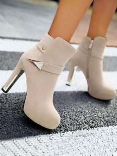 Knee High Stiletto Boots, High Heel Boots, Heeled Boots, Stiletto Heels, Shoe Boots, High Heels, Ankle Boots, Women's Shoes, Fashion Heels