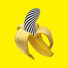 How to catch a monster Banana Art, Mellow Yellow, Art Projects, Artsy, Fruit, Infographics, Pop Art, Clay, Posters