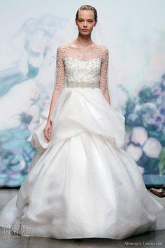Monique Lhuillier Wedding Dresses Fall 2012 | Wedding Inspirasi
