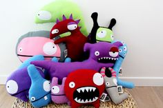 This would so work in my library!!! Monsters
