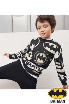 Buy Charcoal Batman® All Over Print Top from the Next UK online shop Super Hero Outfits, Boy Outfits, Toddler Boys, Kids Boys, Boy Fashion, Mens Fashion, Cartoon T Shirts, Boys Pajamas, Little Man