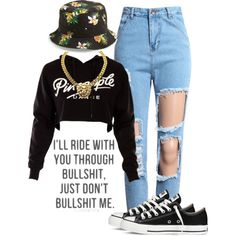 Pineapple, created by bloobaaa on Polyvore