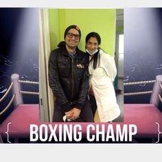 Dr. Divya with Aaron. Not only is he our patient for years but a boxing champion. Aaron actually goes in the ring for Charity!!! Awesome Aaron!!! Just be careful with your teeth. Look at that smile!!! And thank you again for the five star Google review and Congrats!!!!