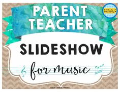 The perfect slideshow for MIOSM, Open House Night, concerts, and other events!
