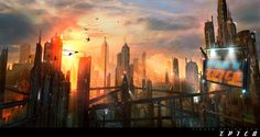 Image result for flooded city