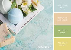 101 Color Combinations to Inspire Your Next Design – Calming and Soothing Color Palette