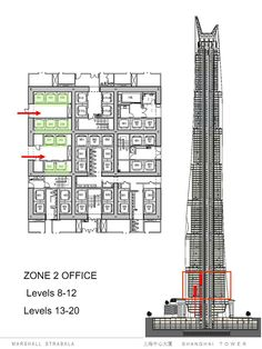 Architectural Drawings Of Skyscrapers in progress: lotte world tower / kpf | skyscrapers, architecture