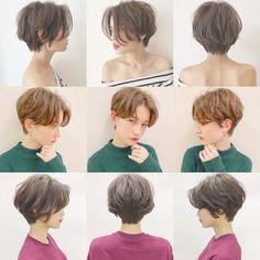 Pin by yurino on hair Tomboy Haircut, Short Hair Tomboy, Tomboy Hairstyles, Asian Short Hair, Cute Hairstyles For Short Hair, Girl Short Hair, Pretty Hairstyles, Short Hair Cuts, Asian Haircut Short