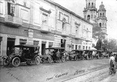 Antiguo hotel Oseguera en 1911.