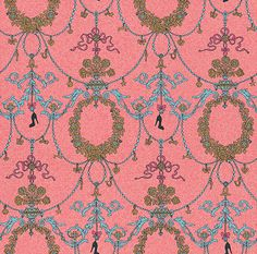 Charm Pattern wallpaper by Albany- €8.00pr