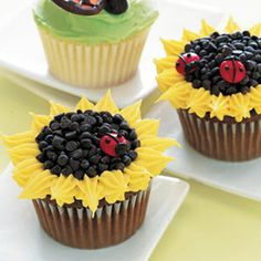 Cute Cupcake Decorating Ideas - How to Decorate Cupcakes - Delish.com