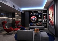 There's an Avengers hotel room coming in 2018