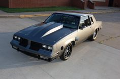 "Street Outlaws John ""Baron"" Gentry 1984 Oldsmobile Cutlass"