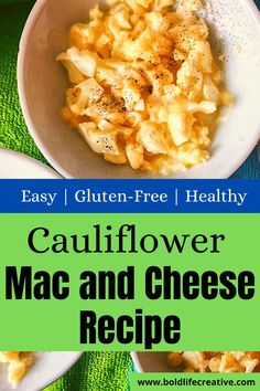 This cauliflower mac and cheese recipe will quickly become a new family favorite. Slightly healthier than traditional mac and cheese made with pasta, this recipe is made with cauliflower instead. It is a great low-carb, keto-friendly option that is very easy to make. Kraft Recipes, Easy Recipes, Easy Meals, Cauliflower Mac And Cheese, Cauliflower Recipes, Health Benefits Of Cauliflower, Tasty Vegetarian Recipes, Recipes For Beginners, Cheese Recipes