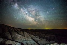Image: The Milky Way from Badlands National Park in South Dakota on May 20, 2012. (© Courtesy Randy Halverson/AP)