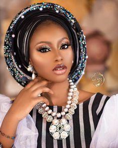 African Attire, African Fashion Dresses, African Hair Wrap, Nigerian Outfits, Beautiful Black Girl, Black Women Art, Headpiece, Fascinator, African Hairstyles