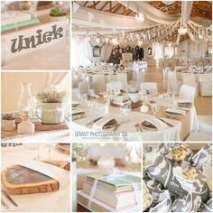 Beautiful Classy and Elegant Rustic Country themed wedding at Casa-lee Country Lodge in Pretoria East Grant, Table Settings, Reception, Pretoria, Table Decorations, Classy, Rustic, Facebook, Country