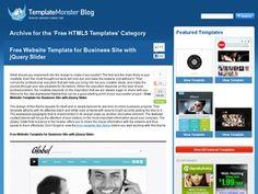 【 Free Website Templates 】 for instant use…✅ WordPress Jquery Slider, Wordpress, Free Website Templates, Sliders, Web Design, Digital, Business, Blog, Design Web