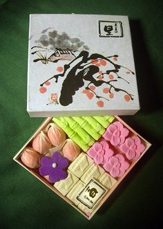 Japanese dried confectionery, Higashi 干菓子