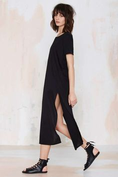 Cross Out Maxi Tee - Clothes | All | Tees