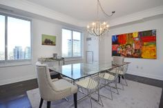 Uptown Residences 35 Balmuto Street Suite 3802 Yorkville Toronto Condos For Sale Dining Room Victoria Boscariol Chestnut Park Real Estate